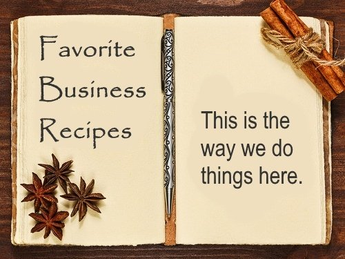 Create Favorite Business Recipes
