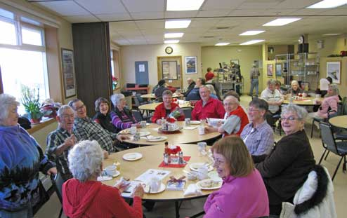 Senior Center Dining Room