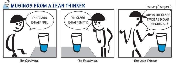Lean Thinking Cartoon