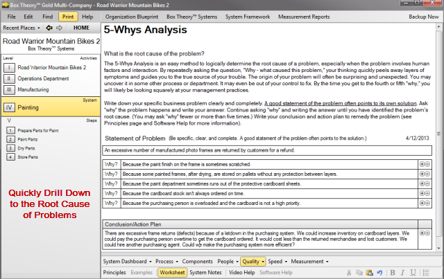 5-Whys Analysis Tool