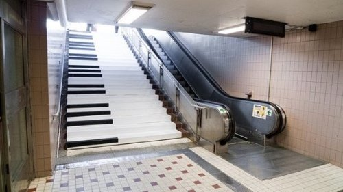 Fun-Factor - Piano Stairs